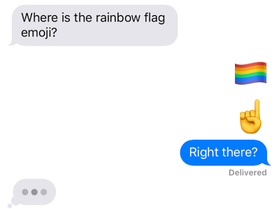 How To Find The Rainbow Flag Emoji