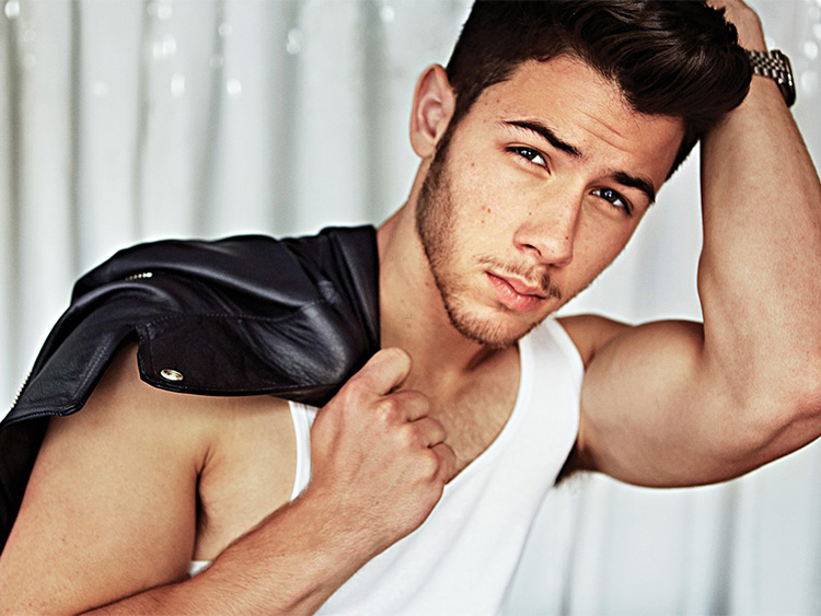 Nick Jonas for Out magazine