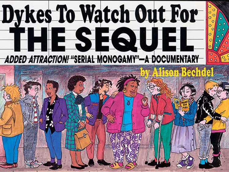 alison bechdel's 'dykes to watch out for' makes a return post ...