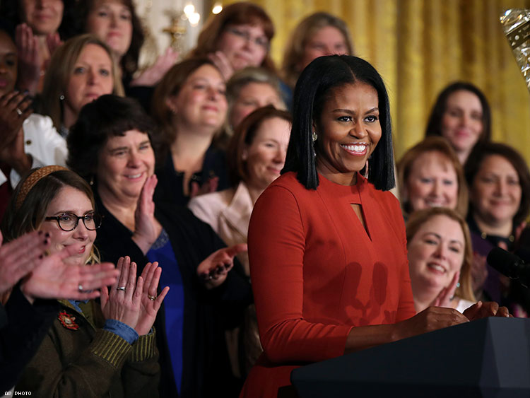 Try Not to Cry While Watching Michelle Obama