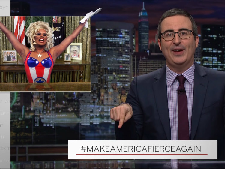 John Oliver Wants RuPaul for President (and We Couldn't Agree More)