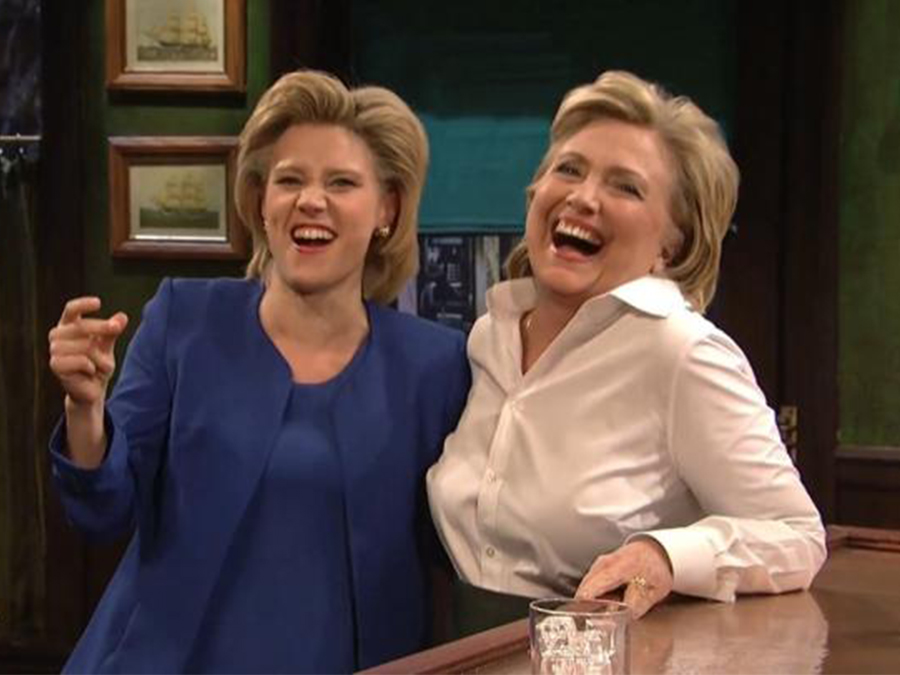 kate-mckinnon-hillary-clinton-dinner-together-nyc