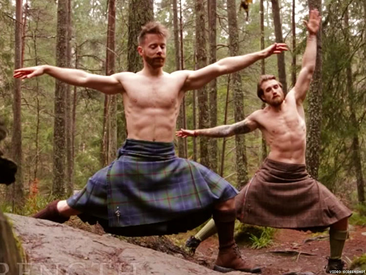 These Kilted Yogis Are The Ultimate Thirst Trap You Need