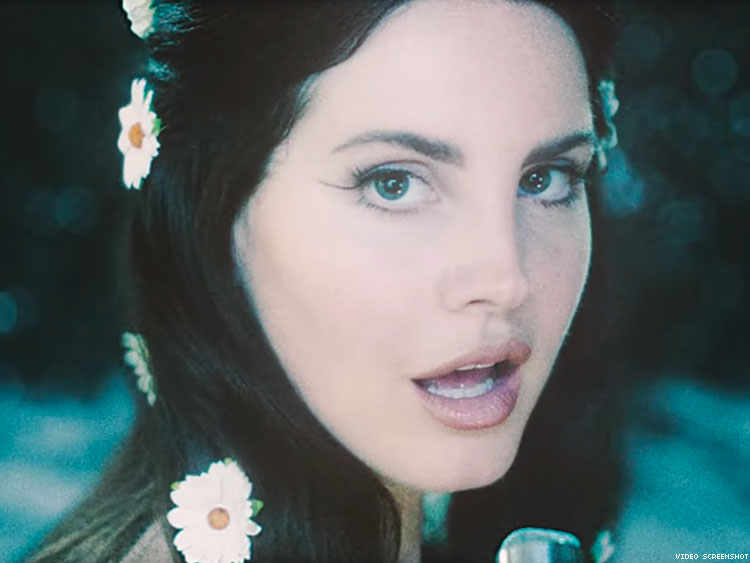Lana Del Rey Takes Us To The Moon In The Dreamy Love