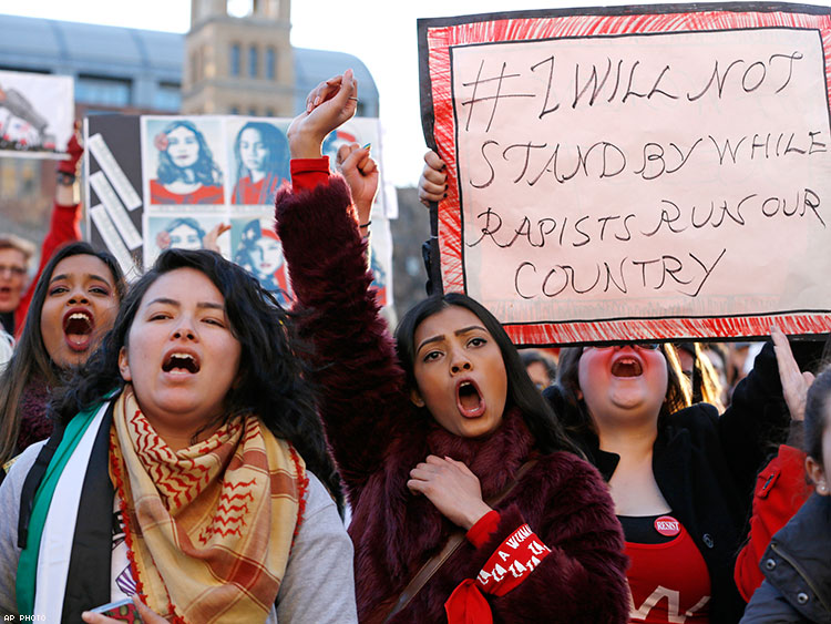 Take a Look at the Impressive Activism from International Women's Day