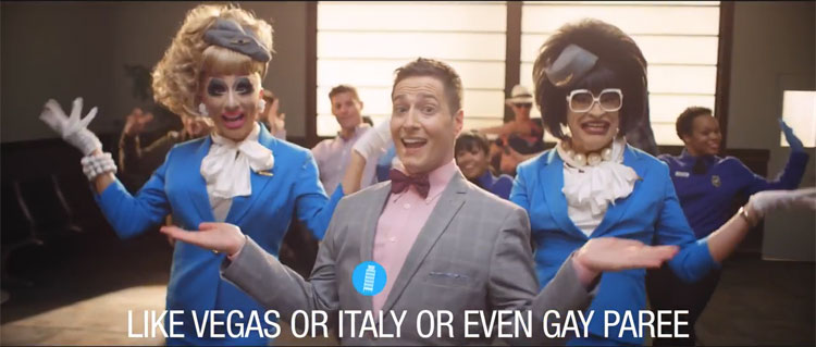 Randy Rainbow, Margaret Cho, & Bianca Del Rio All Teamed Up to Make a Hilarious Orbitz Ad