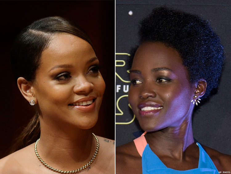 Our Prayers Worked: Rihanna & Lupita Nyong'o Are Starring in a Movie Together
