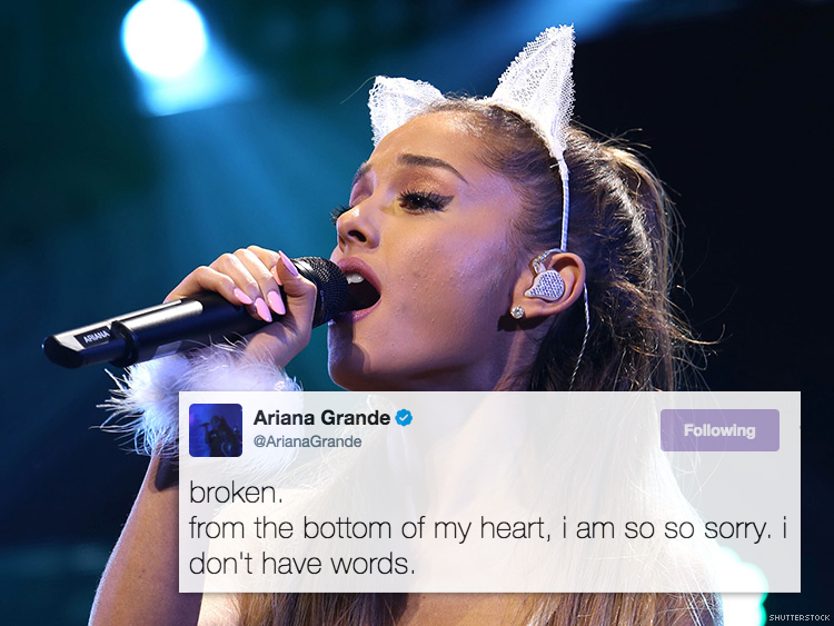 Ariana Grande and Other Celebrities Are Heartbroken After
