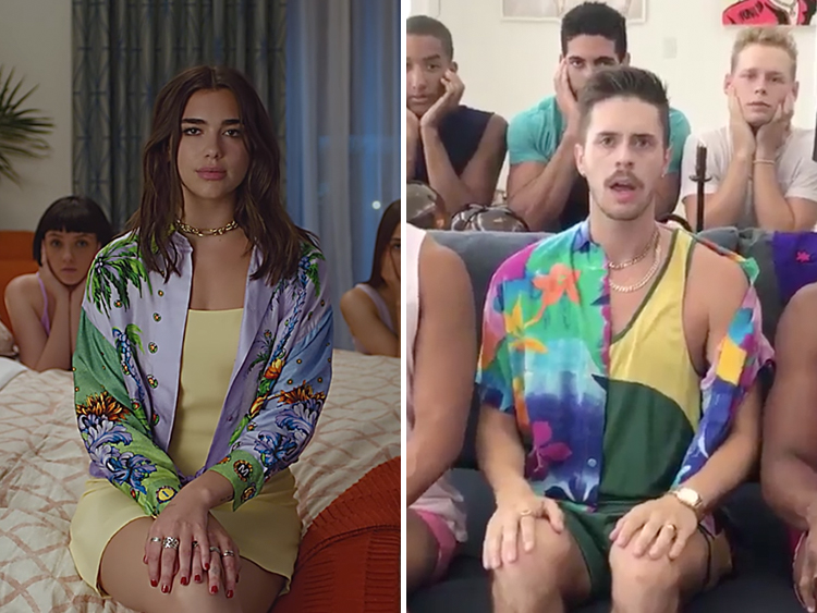 Gays recreated dua lipas new rules video and its hilariously perfect stopboris Gallery