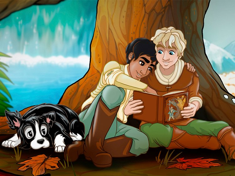This Gay Children's Book Is the Fairytale Love Story You