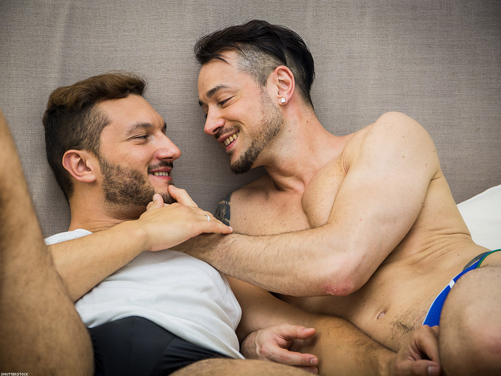 sexy gay men with each other