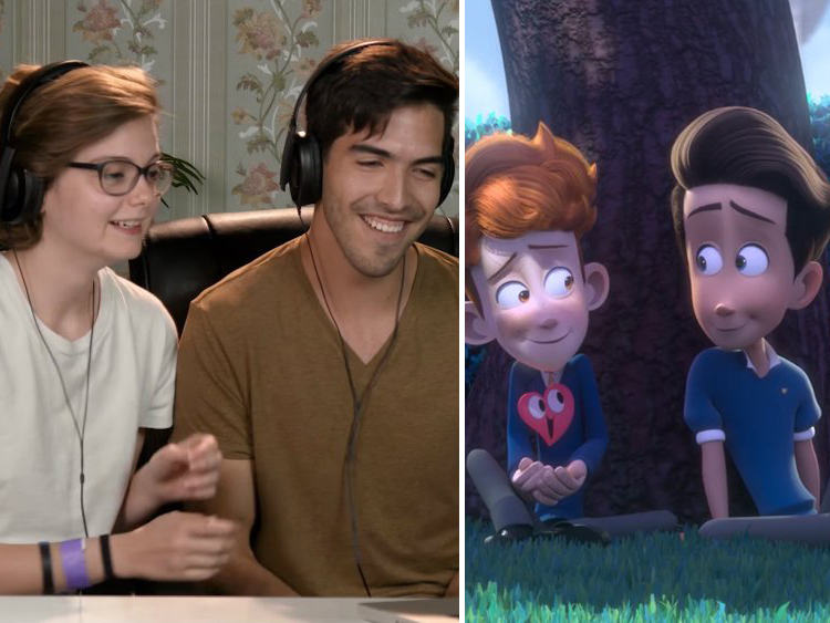 In a Heartbeat' Animators Adorably React to Elders Freaking Out Over