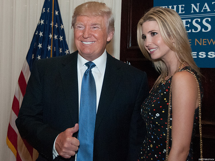 "Trump Likes it when Ivanka Calls Him ""Daddy"" Forever Ruining Daddy for All Queers"