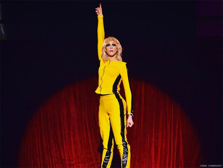 "Drag Queen Heidi Haux Reenacts All Of ""Kill Bill"" In Epic Performance"