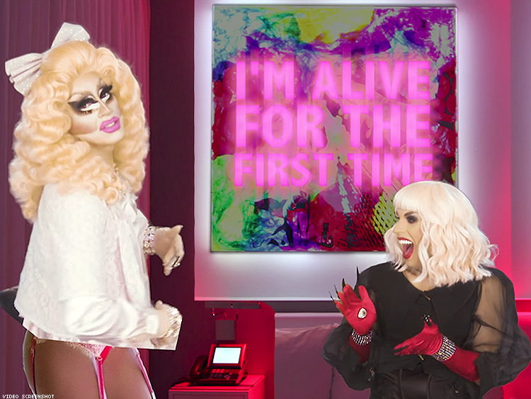 Watching Trixie U0026 Katya Relive Their Worst Drug Trips Is Absolutely  Outrageous