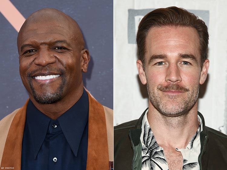 Terry Crews and James Van Der Beek