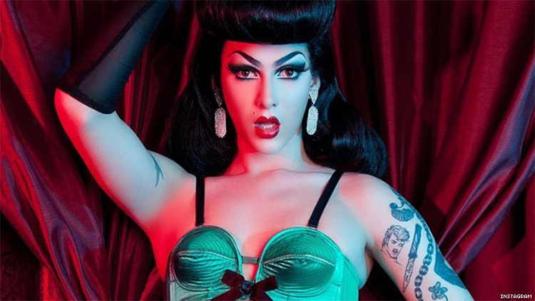 Violet Chachki Stuns as the First Drag Queen to Model for Lingerie Campaign