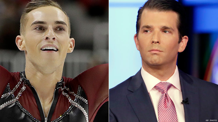 Trump Jr. V.S. Adam Rippon