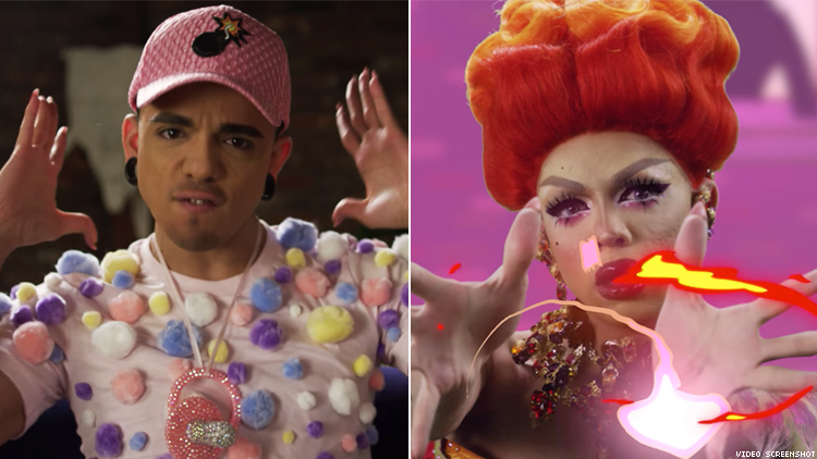 "Aja's New Music Video, ""Finish Her"" Is Every Gay Gamer's Evil Fantasy"