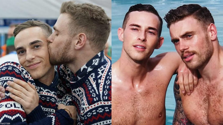 Gus Kentworthy and Adam Rippon