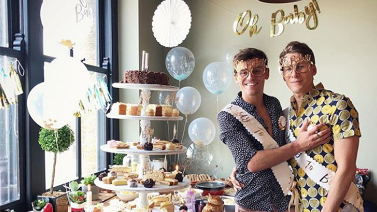 Tom Daley Dustin Lance Black Threw A Baby Shower And We Wish We