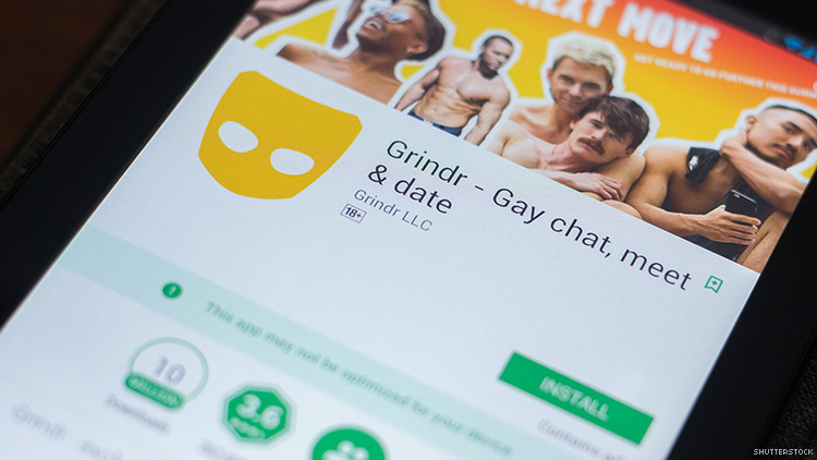 Online version of grindr