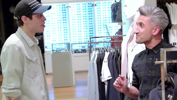 Pete Davidson Asked Tan France To Dress Him For His Wedding To Ariana