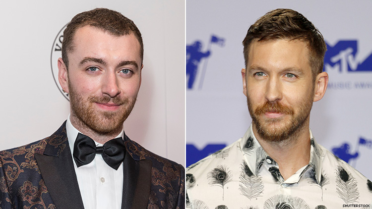 We're Getting a Sam Smith & Calvin Harris Collab This Week!