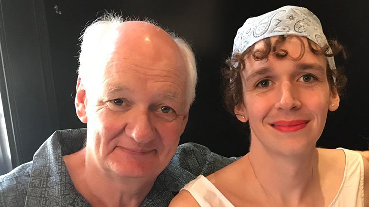 Photo of Colin Mochrie  & his  Daughter  Kinley Mochrie