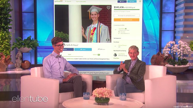 Gay Valedictorian Kicked Out of Home Gets Help from Ellen DeGeneres