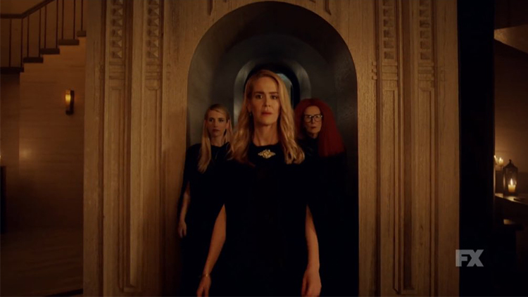 The Coven Finally Showed Up To Ahs Apocalypse Fans Were Ecstatic