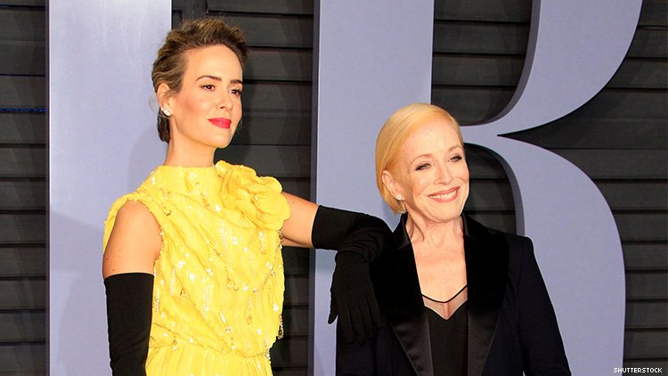 Sarah Paulson Talks About Her Relationship with Holland Taylor