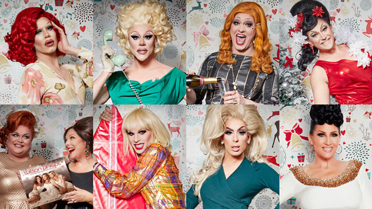 Christmas Queens.Make Christmas Gay Again With The Christmas Queens Concert