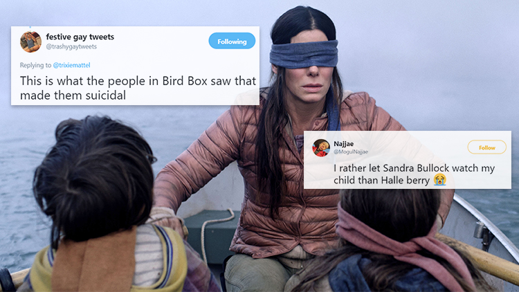 Netflix's 'Bird Box' Inspired Some Really Gay Memes