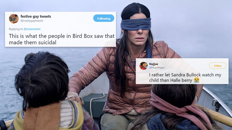 Netflix warns people to not do the 'Bird Box' challenge