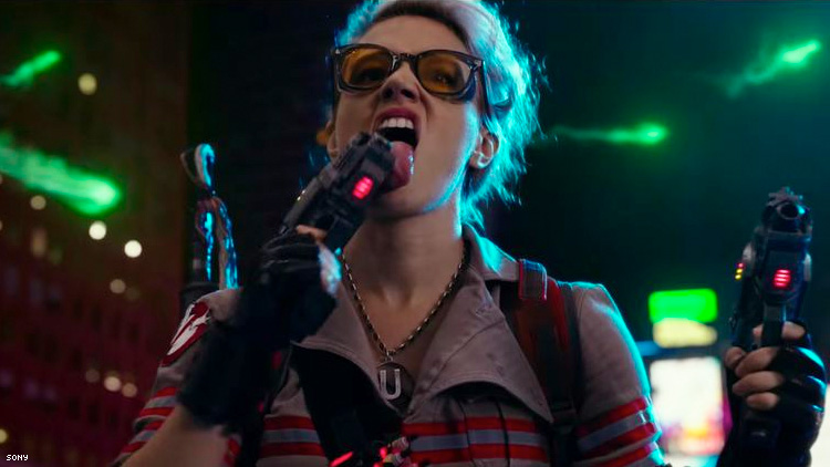 "Kate McKinnon in ""Ghostbusters"""