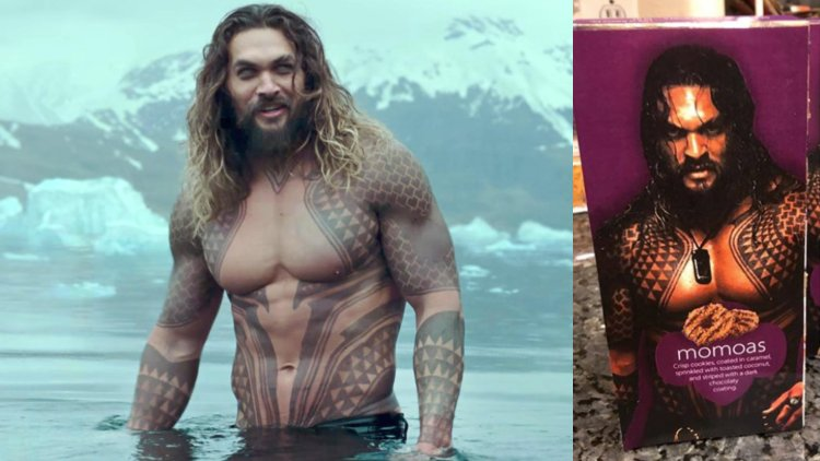 Would You Eat Jason Momoa Girl Scout Cookies