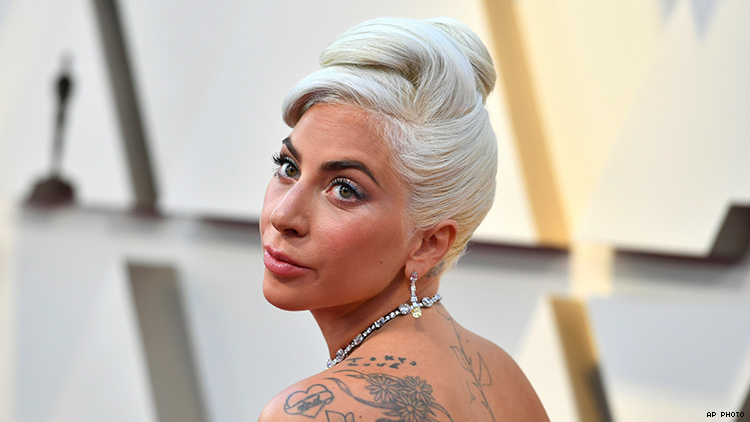 Lady Gaga laughs off rumours she is expecting