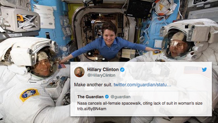 NASA Administrator Defends Nixing All-Female Spacewalk