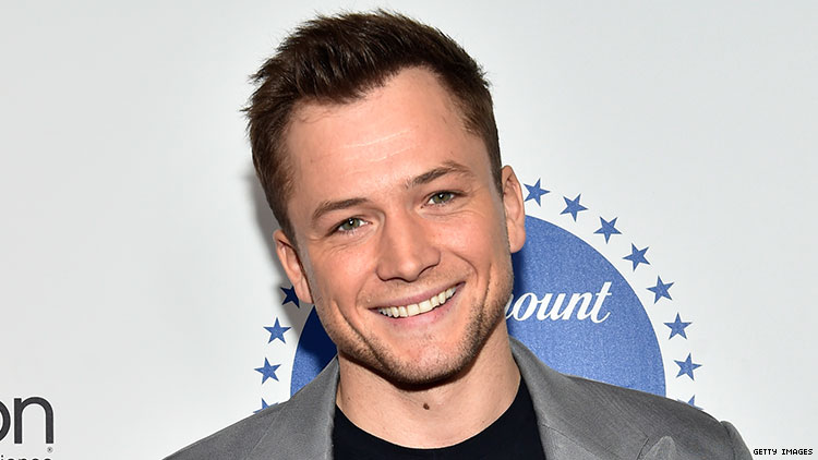 Taron Egerton Says He Feels 'At Home' in Gay Clubs