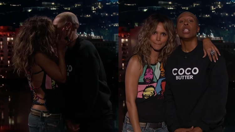 Lena Waithe and Halle Berry Totally Made Out on TV Last Night