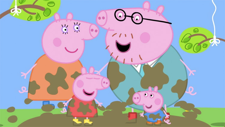 Petition Requests Children's Show 'Peppa Pig' Add Same-Sex