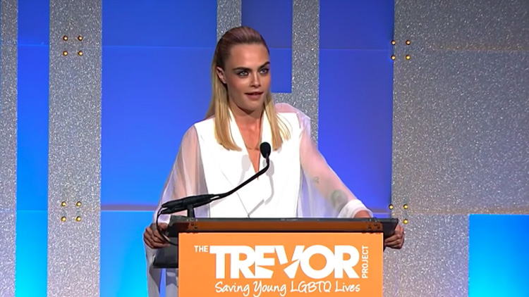 Cara Delevingne's Hero Award Speech Gave Adorable Nod to Ashley Benson