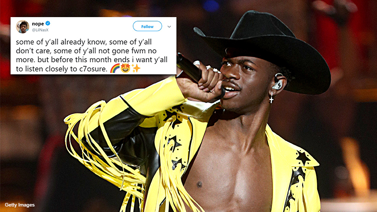 Wait, Did Lil Nas X Just Come Out?
