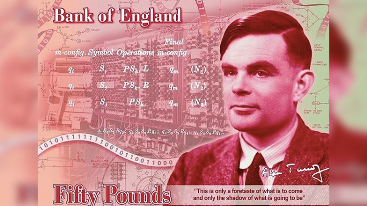 Gay Codebreaker Alan Turing to Be the New Face of £50 Banknote