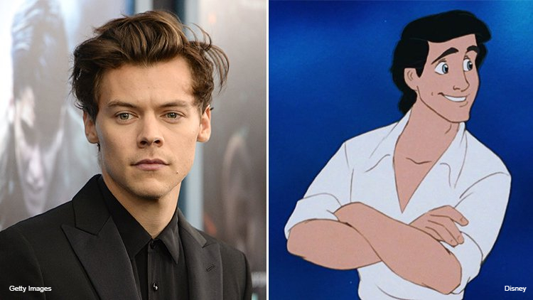 Harry Styles in Talks to Play Prince Eric in 'Little Mermaid' Remake