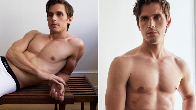 Just Some Pics of Queer Eye's Antoni In His Tom Ford Underwear