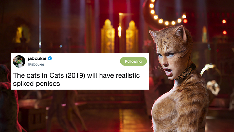 Comedian Roasted the CATS Movie so Hard He Got Suspended from Twitter