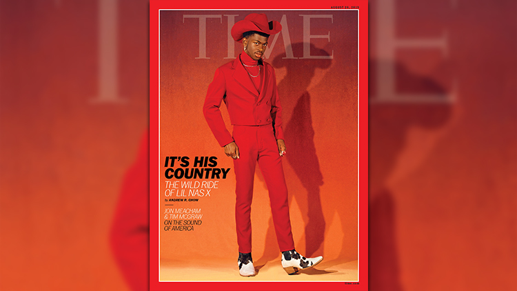 We Have Serious Heart Eyes for Lil Nas X & His TIME Cover