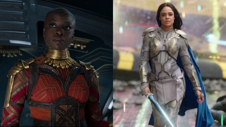We Were Almost Blessed With an Okoye & Valkyrie Team-Up in 'Endgame'